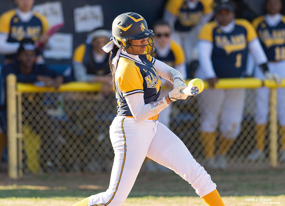 2017 A&T Softball vs Howard University -www.ncataggies.com \ Photo by: Kevin L. Dorsey