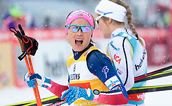 20.02.2016, Salpausselkae Stadion, Lahti, FIN, FIS Weltcup Langlauf, Lahti, Damen, im Bild Therese Johaug (NOR) // Therese Johaug of Norway reacts during Ladies FIS Cross Country World Cup, Lahti Ski Games at the Salpausselkae Stadium in Lahti, Finland on 2016/02/20. EXPA Pictures © 2016, PhotoCredit: EXPA/ JFK