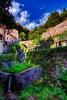 """Water flow from the Convent of Cells - Founded by San Francesco - Cortona""…<br />