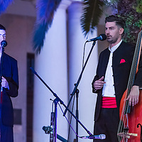 Singers and musicians come together for a performance of traditional  music and song in Split, Croatia, during the 2016 easter celebrations. Klapa is usually performed acapella but can occasionally incorporate traditional instruments as accompaniment