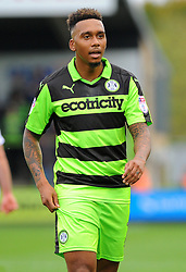 Keanu Marsh-Brown of Forest Green Rovers- Mandatory by-line: NizaamJones/JMP- 14/10/2017 - FOOTBALL - New Lawn Stadium - Nailsworth, England - Forest Green Rovers v Newport County - Sky Bet League Two