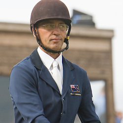 Andrew Nicholson at Burghley Horse Trials 2009