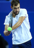 JERZY JANOWICZ - 07.02.2015 - Tennis - Open Sud de France- Montpellier<br /> Photo : Andre Delon / Icon Sport