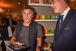 Dimitri Goulandris at the third annual Fortnum's x Frank exhibition at Fortnum & Mason, 181 Piccadilly, London, UK on September 12, 2018.<br /> 12 September 2018.