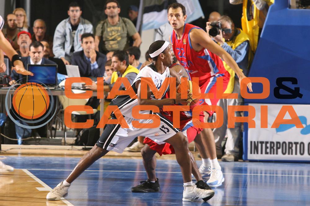 DESCRIZIONE : Napoli Eurolega 2006-07 Eldo Napoli CSKA Mosca<br />GIOCATORE : Brown<br />SQUADRA : Eldo Napoli<br />EVENTO : Eurolega 2006-2007 Eldo Napoli CSKA Mosca<br />GARA : Eldo Napoli CSKA Mosca Moscow<br />DATA : 25/10/2006 <br />CATEGORIA : Palleggio<br />SPORT : Pallacanestro <br />AUTORE : Agenzia Ciamillo-Castoria/G.Ciamillo