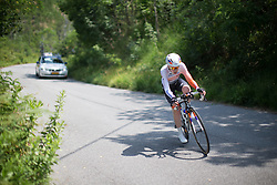 Anna van der Breggen had lost time in the opening week of the Giro Rosa as she looked to defend her 2015 title. The challenging time trial was her opportunity to catch up some of that lost ground.