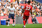 Tottenham Hotspur Defender Kieran Trippier (2) in action during the Premier League match between Tottenham Hotspur and Fulham at Wembley Stadium, London, England on 18 August 2018.