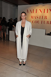 STELLA McCARTNEY at a private view of 'Valentino: Master Of Couture' at Somerset House, London on 28th November 2012.