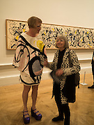 GRAYSON PERRY; GLENYS BARTON, Opening of Abstract Expressionism, Royal Academy, Piccadilly, London, 20 September 2016