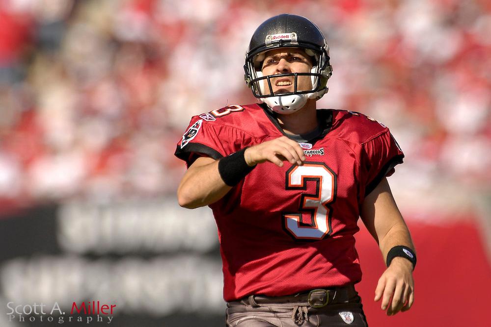 Nov. 19, 2006; Tampa, FL, USA;  Tampa Bay Buccaneers kicker (3) Matt Bryant in action against the Washington Redskins at Raymond James Stadium. ...©2006 Scott A. Miller