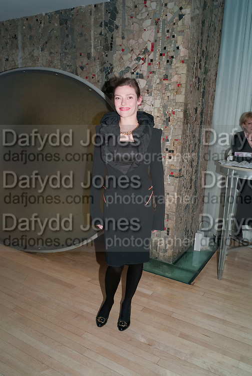CAMILLA RUTHERFORD;, An evening at Sanderson to celebrate 10 years of Sanderson, in aid of Clic Sargent. Sanderson Hotel. 50 Berners St. London. W1. 27 April 2010 *** Local Caption *** -DO NOT ARCHIVE-© Copyright Photograph by Dafydd Jones. 248 Clapham Rd. London SW9 0PZ. Tel 0207 820 0771. www.dafjones.com.<br /> CAMILLA RUTHERFORD;, An evening at Sanderson to celebrate 10 years of Sanderson, in aid of Clic Sargent. Sanderson Hotel. 50 Berners St. London. W1. 27 April 2010