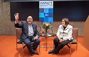 Photo by Mara Lavitt<br /> March 29, 2019<br /> Hastings Hall, Yale University<br /> <br /> Kickoff to the Impact Conferece, Yale Alumni Assoc.<br /> <br /> Winning the Freedom to Marry: Lessons for Achieving Change with Linda Greenhouse of Yale Law School and Evan Wolfson, founder and president of Freedom to Marry.