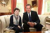 Alice Pyne meets Prime Minister David Cameron at 10 Downing St Anthony Nolan Trust