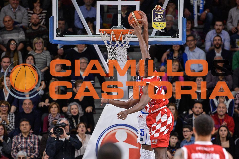 David Lighty, Eric Lombardi<br /> Banco di Sardegna Dinamo Sassari - The Flexx Pistoia Basket<br /> Legabasket Serie A LBA Poste Mobile 2016/2017<br /> Sassari 04/03/2017