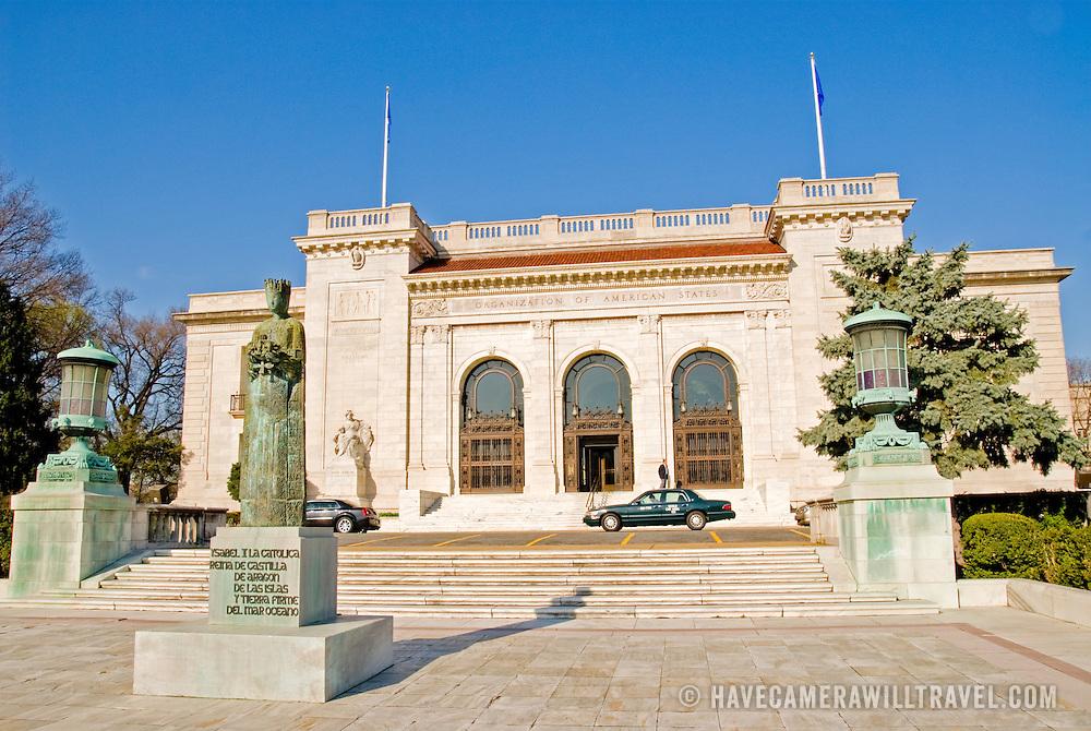 Washington headquarters of the Organization of American States (OAS) near the White House