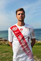Manuel Perez - 09.09.2015- Photo Officielle de Brest - Ligue 2<br /> Photo : Philippe Le Brech / Icon Sport