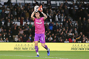 Bristol City goalkeeper Daniel Bentley (1) during the EFL Sky Bet Championship match between Derby County and Bristol City at the Pride Park, Derby, England on 20 August 2019.