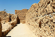 Israel, The ruins of Masada