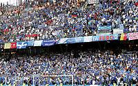 GEPA-1806086887 - SALZBURG,AUSTRIA,18.JUN.08 - FUSSBALL - UEFA Europameisterschaft, EURO 2008, Griechenland vs Spanien, GRE vs ESP. Bild zeigt Fans von Griechenland.<br />Foto: GEPA pictures/ Felix Roittner
