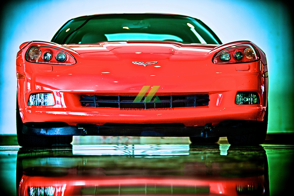 2011 Chevrolet Red Corvette