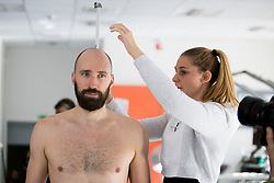Vid Kavticnik on psychophysical tests at Faculty of Sports before tomorrow's handball match between the national teams of Slovenia and Croatia, on October 17, 2017 in Faculty of Sports, Ljubljana, Slovenia. Photo by Urban Urbanc / Sportida