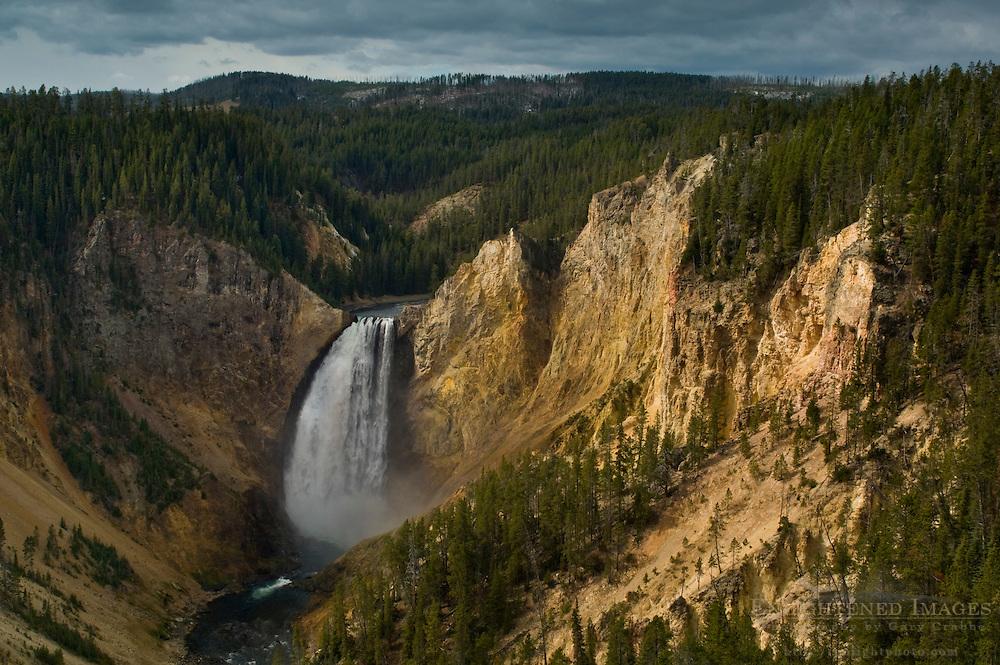 Lower Yellowstone Falls, Yellowstone National Park, Wyoming Yellowstone National Park, Wyoming