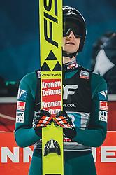 06.01.2020, Paul Außerleitner Schanze, Bischofshofen, AUT, FIS Weltcup Skisprung, Vierschanzentournee, Bischofshofen, Finale, im Bild Clemens Aigner (AUT) // Clemens Aigner of Austria during the final for the Four Hills Tournament of FIS Ski Jumping World Cup at the Paul Außerleitner Schanze in Bischofshofen, Austria on 2020/01/06. EXPA Pictures © 2020, PhotoCredit: EXPA/ Dominik Angerer