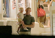 Ibiza: Wayne Rooney and his family out for dinner - 27 June 2017