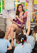 Jessica Levasseur teaches her 1st grade class at Lewis Elementary School, May 1, 2013.
