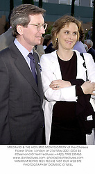 MR DAVID & THE HON.MRS MONTGOMERY at the Chelsea Flower Show, London on 21st May 2001.	OOJ 44