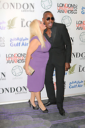 Vanessa Feltz; Ben Ofoedu, London Lifestyle Awards, The Troxy, London UK, 23 October 2013, Photo by Richard Goldschmidt © Licensed to London News Pictures.23/10/13 . Photo credit : Richard Goldschmidt/Piqtured/LNP