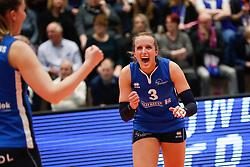 20180218 NED: Bekerfinale Eurosped - Sliedrecht Sport, Hoogeveen <br />Esther Hullegie (3) of Sliedrecht Sport <br />&copy;2018-FotoHoogendoorn.nl