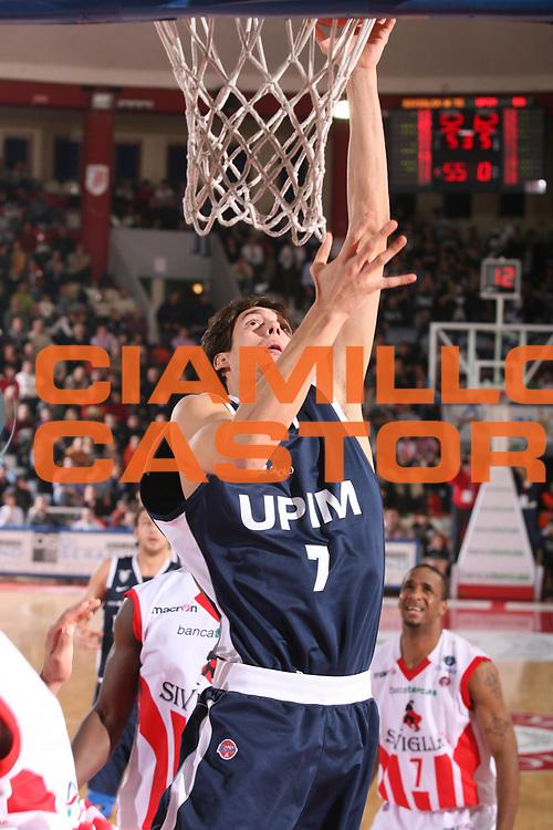 DESCRIZIONE : Teramo Lega A1 2007-08 Siviglia Wear Teramo Upim Fortitudo Bologna <br /> GIOCATORE : Alessandro Cittadini <br /> SQUADRA : Upim Fortitudo Bologna <br /> EVENTO : Campionato Lega A1 2007-2008 <br /> GARA : Siviglia Wear Teramo Upim Fortitudo Bologna <br /> DATA : 05/01/2008 <br /> CATEGORIA : Tiro <br /> SPORT : Pallacanestro <br /> AUTORE : Agenzia Ciamillo-Castoria/G.Ciamillo