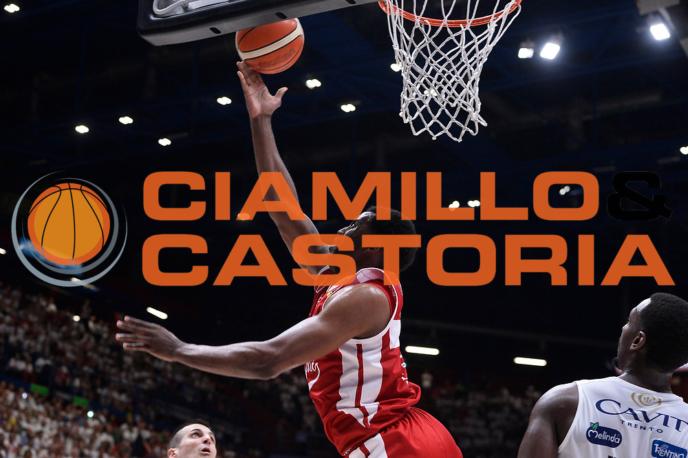 McLean Jamel<br /> EA7 Emporio Armani Olimpia Milano - Dolomiti Energia Aquila Basket Trento<br /> Playoff Gara 1<br /> Lega Basket 2016/2017<br /> Milano 25/05/2017<br /> Foto Ciamillo-Castoria