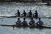Plovdiv BULGARIA. 2017 FISA. Rowing World U23 Championships. <br /> Two BM4- silhouette.<br /> Friday Semi Finals C/D and A/B<br /> <br /> 17:51:35  Friday  21.07.17   <br /> <br /> [Mandatory Credit. Peter SPURRIER/Intersport Images].