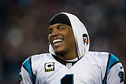 January 24, 2016: Carolina Panthers vs Arizona Cardinals. Cam Newton