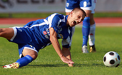 Gregor Bunc (11) of Nafta at 7th Round of PrvaLiga Telekom Slovenije between NK Interblock vs NK Nafta Lendava, on September , 2008, in ZAK stadium in Ljubljana, Slovenia. Interblock won the match 3:1. (Photo by Vid Ponikvar / Sportal Images)