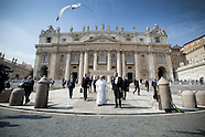 Pope Francis general audience at St Peter's Square