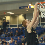 College of Charleston Center David Wishon (33) dunks the ball in the second half of a NCAA regular season Colonial Athletic Association conference game between Delaware and The College of Charleston Wednesday, Feb 5, 2014 at The Bob Carpenter Sports Convocation Center in Newark Delaware.