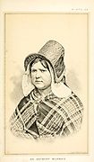 Portrait of a Antwerp milkmaid in traditional clothes from Cattle and dairy farming. Published 1887 by Govt. Print. Off. in Washington. United States. Bureau of Foreign Commerce (1854-1903)