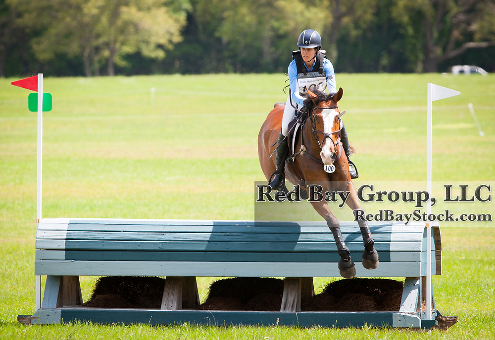 Julie Richards (USA) and Fernhill Splash at the 2014 Ocala Horse Properties International 3-Day Event in Ocala, Florida.