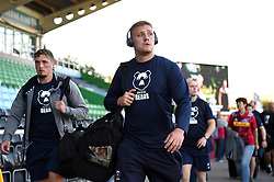 Joe Batley and the rest of the Bristol Bears team arrive at the Stoop - Mandatory byline: Patrick Khachfe/JMP - 07966 386802 - 20/09/2019 - RUGBY UNION - The Twickenham Stoop - London, England - Harlequins v Bristol Bears - Premiership Rugby Cup