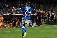 Esultanza Gol Lorenzo Insigne Napoli Goal celebration 1-0 <br /> Napoli 15-09-2018 Stadio San Paolo Football Calcio Serie A 2018/2019 Napoli - Fiorentina <br /> Foto Andrea Staccioli / Insidefoto