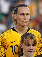 International Women's Friendly Matchs 2019 / <br /> Cup of Nations Tournament 2019 - <br /> Australia v New Zealand 2-0 ( Leichhardt Oval Stadium - Sidney,Australia ) - <br /> Emily van Egmond of Australia