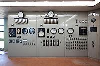 Toppstodin - The old Reserve power station in Ellidaardalur, Reykjavik. Varaaflstöðin í Elliðaárdal var hluti af stofnframlagi Reykjavíkurborgar til Landsvirkjunar við stofnun fyrirtækisins árið 1965.  Um árabil skilaði aflstöðin mikilvægri raforkuframleiðslu á álagstímum sem tryggði nægilegt rafmagn á höfuðborgarsvæðinu.  Aflstöðin í Elliðaárdal hefur ekki verið notuð til raforkuframleiðslu síðan á 9. áratug síðustu aldar.