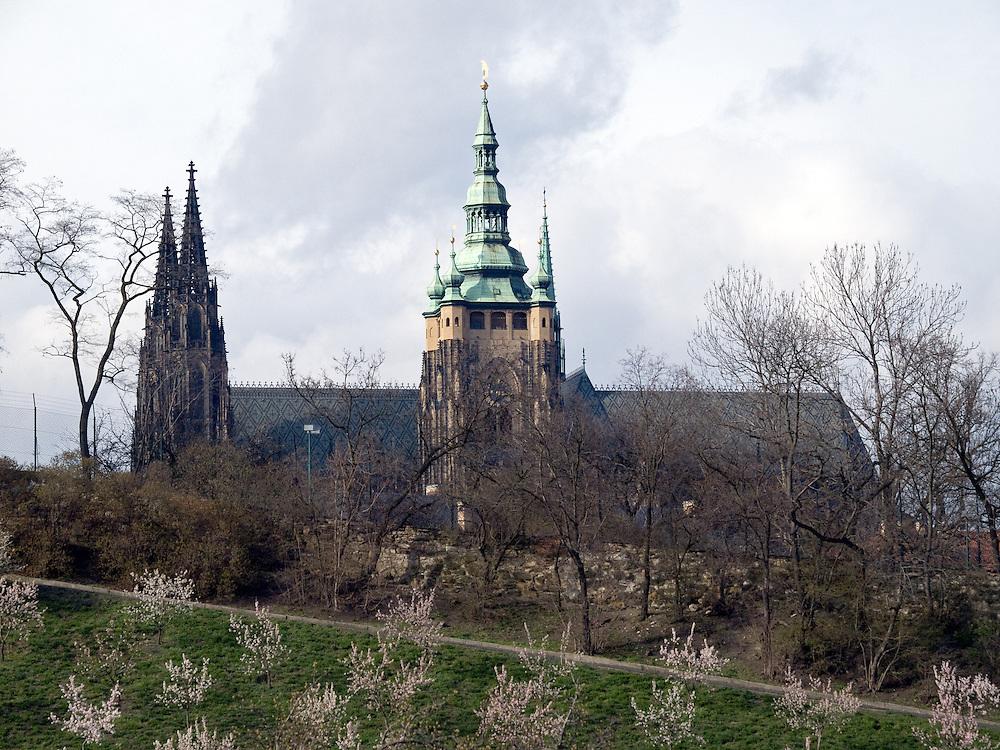 Die Prager Burg (Hradschin).  <br /> <br /> Prague Castle (Hradschin).