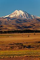 VOLCAN TUPUNGATO (6570 m.s.n.m.), Y PASTOS LA CARRERA, TUPUNGATO, VALLE DE UCO, PROVINCIA DE MENDOZA, ARGENTINA - PHOTO © MARCO GUOLI
