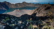 Mount Rinjani Volcano in Lombok (Indonesia).