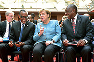 Angela Merkel At G20 Compact with Africa Conference