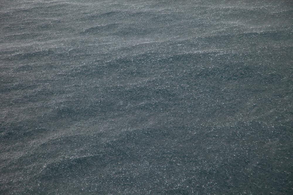 Rain. Lluvia. Acantilados de St. Kilda.  Isla St. Kilda. Outer Hebrides. Scotland, UK